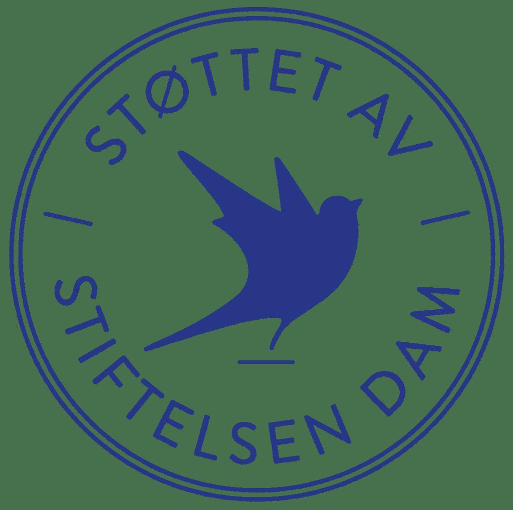 Logo av Stiftelsen Dam