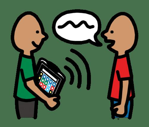 PCS symbol for inkluderende kommunikasjon