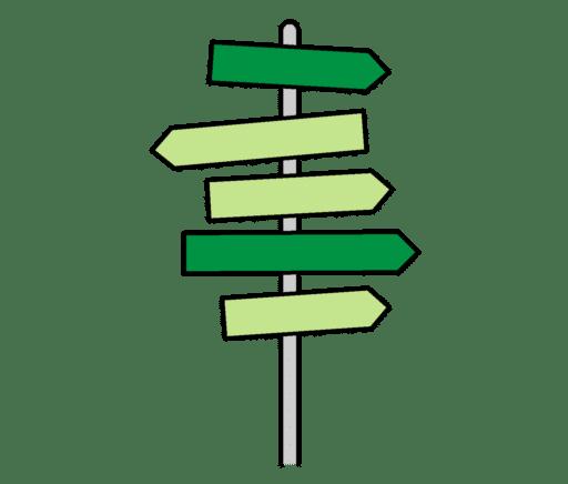 PCS symbol for valgmuligheter