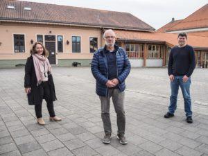 3 glade representanter for Halden kommune. Gun Kleve, Rolf Karlsen og Jens Petter Berget